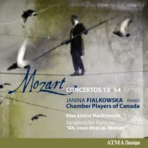 Mozart: Concertos Nos. 13 & 14 (chamber version)