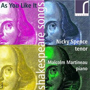 Shakespeare Songs: As You Like It Product Image
