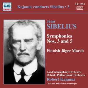 Kajanus Conducts Sibelius, Vol. 3
