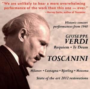 Verdi: Requiem Mass & Te Deum