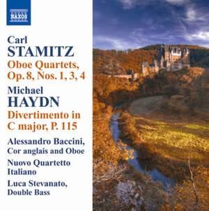 Stamitz, C.: Oboe Quartets, Op. 8, Nos. 1, 3, 4 / Haydn, M.: Divertimento in C Major