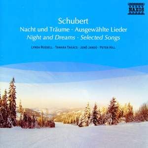 Schubert: Night and Dreams - Selected Songs Product Image