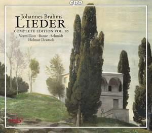 Brahms - Complete Lieder Edition Volume 10