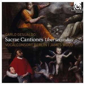 Gesualdo: Sacrae Cantiones, Liber Secundus, a6 e a7, 1603