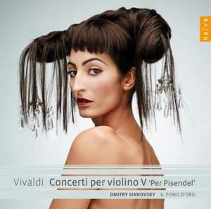 Vivaldi - Violin Concertos Volume 5 (Per Pisendel) Product Image