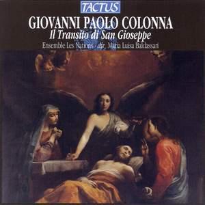 Colonna, G P: Il Transito di San Gioseppe Product Image