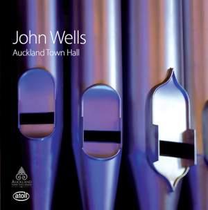 John Wells at the Auckland Town Hall Organ