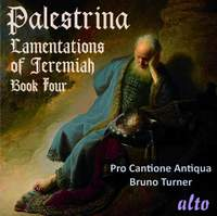 Palestrina: Lamentations of Jeremiah the Prophet Book IV for 5-6 voices