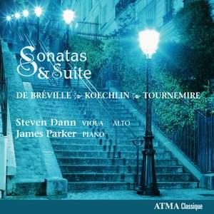 Koechlin, Tournemire & Breville: Viola Sonatas and Suites