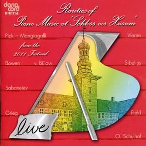 Rarities of Piano Music at the Husum Festival 2011