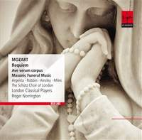 Mozart: Requiem, Ave verum corpus & Masonic Funeral Music