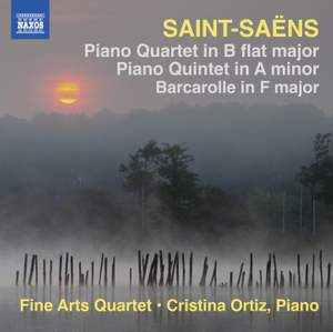 Saint-Saëns: Piano Quartet & Piano Quintet