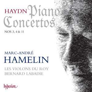 Haydn: Piano Concertos Nos. 3, 4 & 11