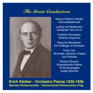 The Great Conductors: Erich Kleiber, Vol. 1 Product Image