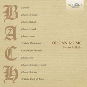 Bach Family: Organ Music