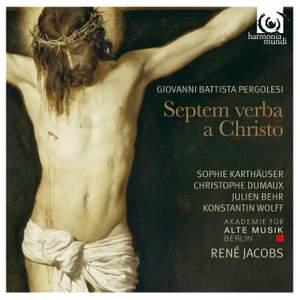 Pergolesi: Septem verba a Christo in cruce moriente prolata Product Image