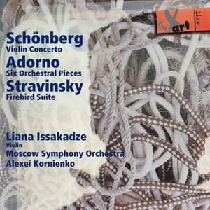 Schönberg, Adorno, Stravinsky: Orchestral Works