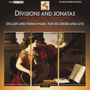 Divisions & Sonatas: English & French Music for Recorder and Lute