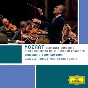 Mozart: Clarinet Concerto, Bassoon Concerto & Flute Concerto No. 2