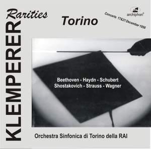 Klemperer Rarities: Torino (1956)