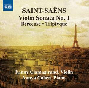 Saint-Saëns: Music for Violin and Piano, Vol. 1
