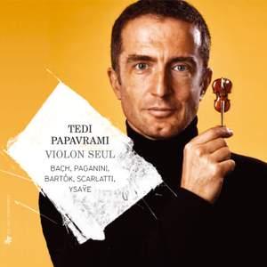 Tedi Papavrami: Violon seul (Solo Violin) Product Image