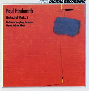 Hindemith: Orchestral Works, Vol. 3