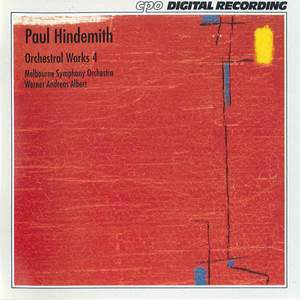 Hindemith: Orchestral Works, Vol. 4