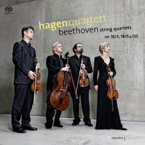 Beethoven: String Quartets Nos. 3, 5 & 16