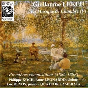 Lekeu: Chamber Music Vol. 5