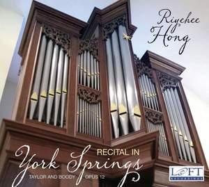Recital in York Springs