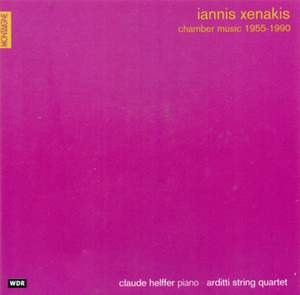 Iannis Xenakis: Instrumental and Chamber Music Product Image