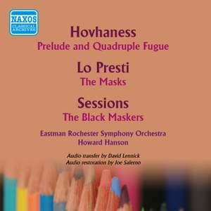 Hovhaness: Prelude and Quadruple Fugue