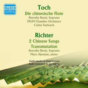 Toch: The Chinese Flute