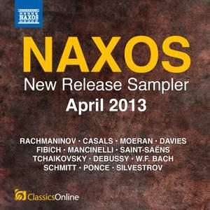 Naxos April 2013 New Release Sampler
