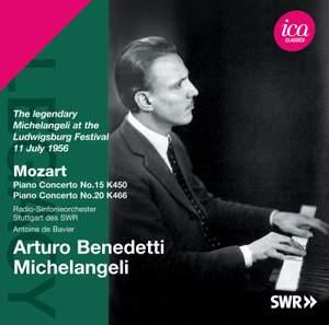 Arturo Benedetti Michelangeli plays Mozart Piano Concertos