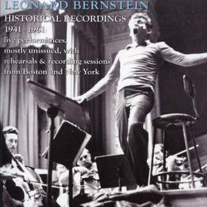 Leonard Bernstein: Historic Broadcasts 1946-1961