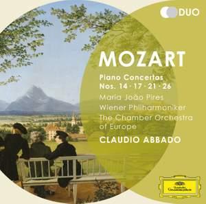 Mozart: Piano Concertos Nos. 14, 17, 21, 26 Product Image