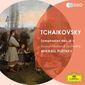 Tchaikovsky: Symphonies Nos. 4-6 Product Image