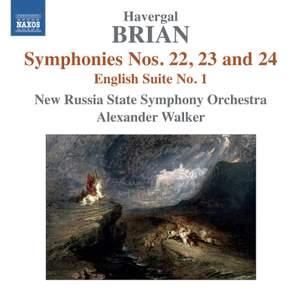 Havergal Brian: Symphonies Nos. 22-24