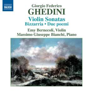 Ghedini: Complete Music for Violin and Piano Product Image