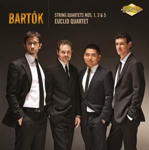 Bartók: String Quartets Nos. 1, 3 & 5 Product Image