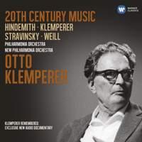 20th Century Music: Hindemith, Klemperer, Stravinsky & Weill