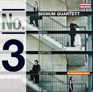 Signum Quartett play Bartók, Berg & Schnittke