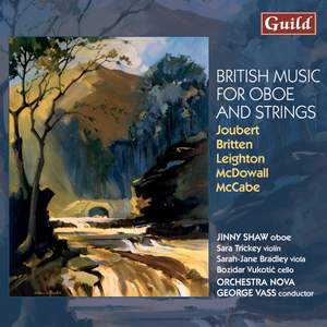 British Music for Oboe & Strings