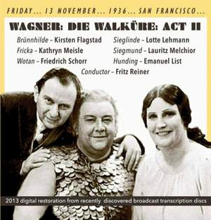 Wagner: Die Walkure: Act 2 Product Image