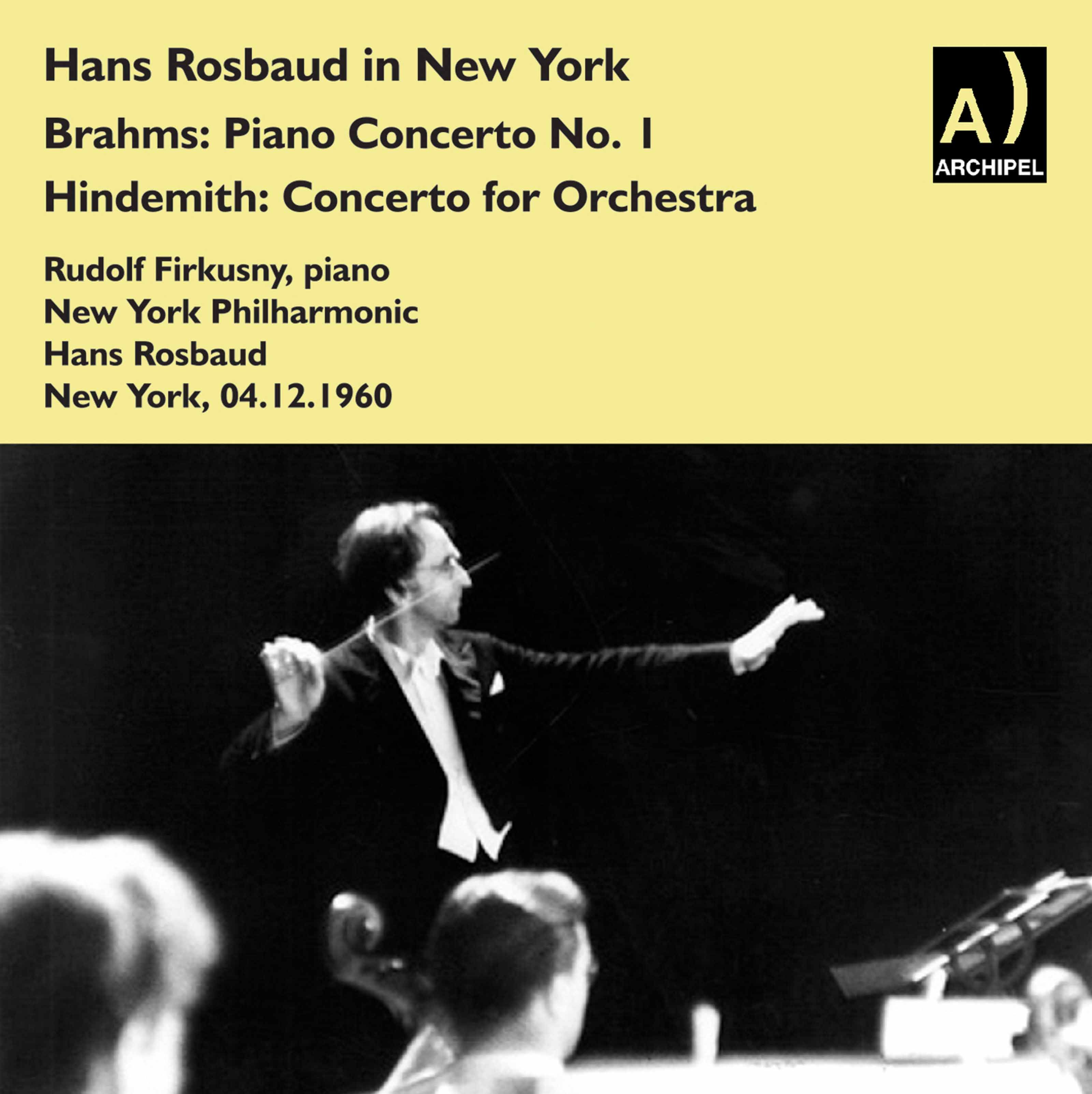 Hans Rosbaud conducts Brahms & Hindemith