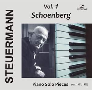 Eduard Steuermann, Vol. 1: Schoenberg