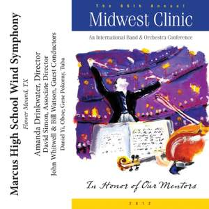 2012 Midwest Clinic: Marcus High School Wind Symphony