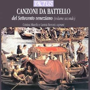 Canzoni da Battello del Settecento veneziano, Vol. 2 Product Image